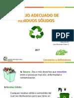 Charla Clasificación de Residuos Sólidos