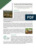 Informe Final Planificación de Extensión Rural