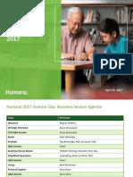 170425 Humana Investor Day