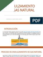 Endulzamiento de Gas Natural