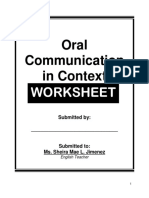 oral communication in context worktext 3333