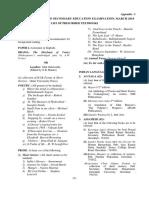34.Appendix I - List of Prescribed Books