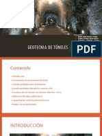 Exposiciòn Final - Geotecnia Para Tùneles