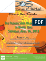 Richland College Carnival of Steel 2011 Save the Date
