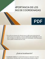 03.- Importancia Del Sistema de Coordenadas
