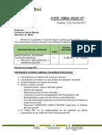 Propuesta Economica BAÑOS - Consorcio Nuevo Mundo 2