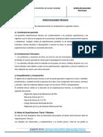Especificaciones Tecnicas Losa Deportiva Vilcas Huamanf