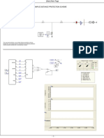 Distance Protection Using PSCAD