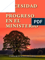 Necesidad Del Progreso en El Mi - Spurgeon, Charles H