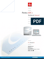 ABX Pentra 60-C Plus Analyzer - Service manual.pdf