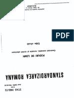 STAS 1483-72 Poduri de Lemn