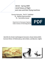 A Brief History of Flight