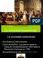 4 La Sociedad Estamental