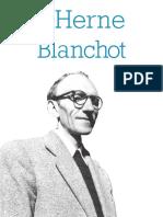 (Les Cahiers de L_Herne) Eric Hoppenot, Dominique Rabate-Cahier Blanchot-Herne (2014) (1)