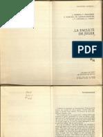 1985. Derrida Et Al La Faculte de Juger