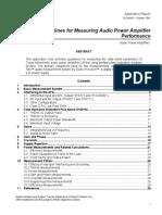 D Class Audio Amp by TI