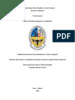 Modelo de Desconcentracion Administrativa y Tecnica Municipal