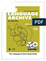The Language Archive Study Guide