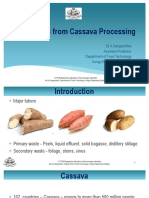 Byproducts from Cassava Processing