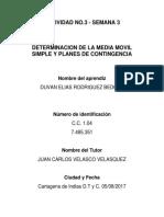 Taller 3 Media Movil - Planes de Contingencia Resple