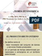 teoría económica- el producto bruto interno