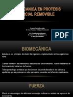 Biomecanica en Protesis Parcial Removible