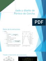 Modelado y Diseño de Pórtico de Cercha