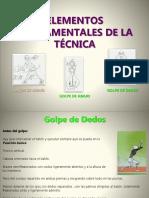 4. Elementos Fundamentales de La Tecnica