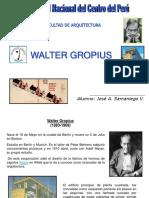 Presentación Walter Gropius