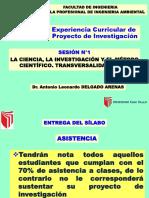 Ppt 01 - Ciencia, Investigación y Método Científico