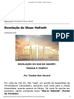 Revelação Do Shaar HaEmêt __ Judaísmo Nazareno