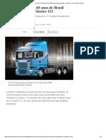 Scania Comemora 60 Anos de Brasil Homenageando o Clássico 113 _ Quatro Rodas