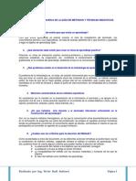 Tarea No 2 Las 10 Preguntas Acerca de La Guía de Métodos y Técnicas Didácticas