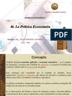 16. La Politica Economica.ppt