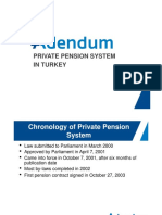 About Private Pension System