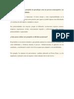Refleciones Del Protafolio