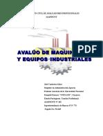 296516716 Avaluo de Maquinarias y Equipos Industriales