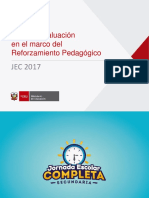 Primera Evaluación JEC 2017