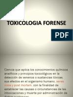 2016 - Clase 9 Quimica y Toxicologia