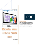 Manual de Uso Software Adapto Gestión Hotelera
