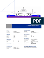 Damen Ropax Ferry 7014 YN242496 DS
