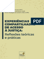 Experiências Compartilhadas de Acesso à Justiça Reflexões Teóricas e Práticas