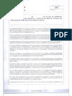 Decreto Estructuras Area Unica