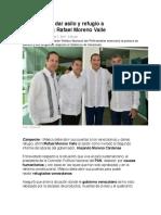 07.08.17 México debe dar asilo y refugio a venezolanos- Rafael Moreno Valle