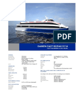 Products Sheet Fast RoPax Ferry 5114-01-2015