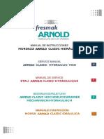 Manual Instrucciones ARNOLDCLASSIC Hidraulica