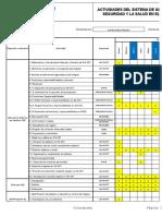 Cronograma Trabajo SG-SST 2014