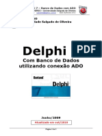 Delphi7 Banco de Dados Com ADO