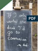Communion Sign