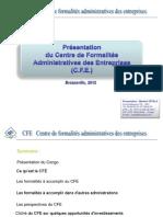 Présentation du Centre de Formalités des Entreprises (CFE) Guichet Unique.pptx